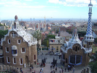 Famosa chaminé de Gaudí