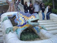 O Dragão el Dragon de Gaudí