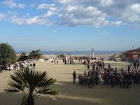 Prinpical Praça do Parque Guell
