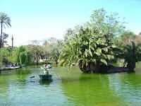 Lago do Parque de la Ciudadela