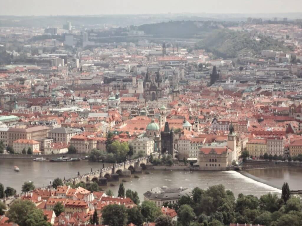 Monte Petrin em Praga