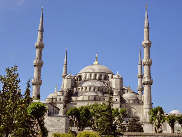 most famous mosque of Turkey
