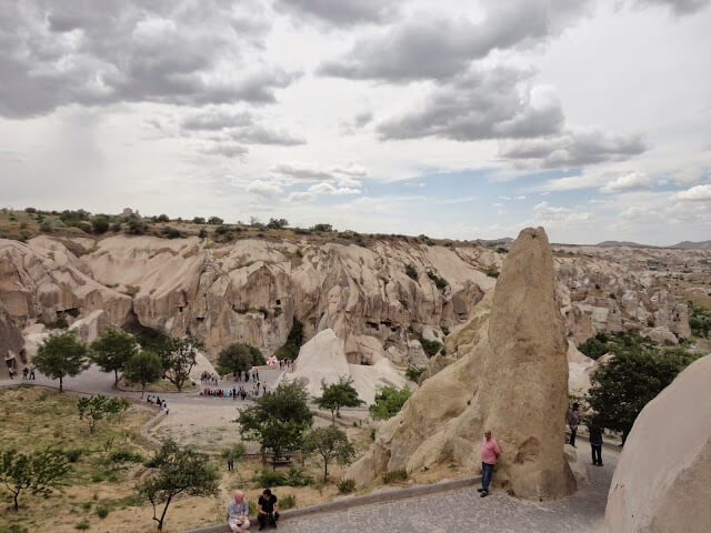 What are the main tourist attractions of Cappadocia