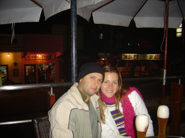 Christian e Priscila em Minas Gerais