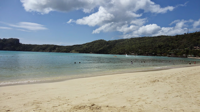 Praia baia di Loh Dalum