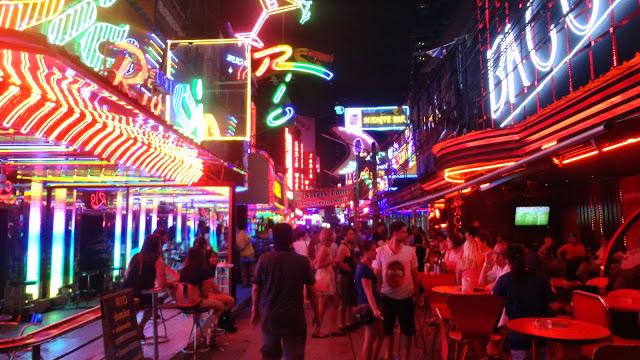 Vida Noturna de Bangkok