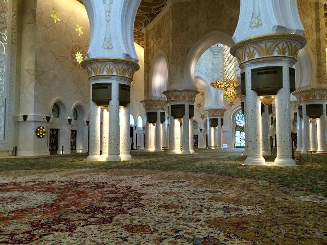 Mezquita Sheikh Zayed de Abu Dhabi, EAU,