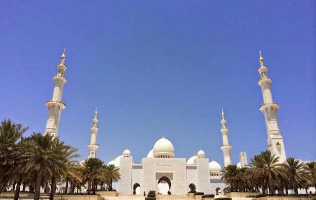 Abu Dhabi, capital dos Emirados Árabes Unidos