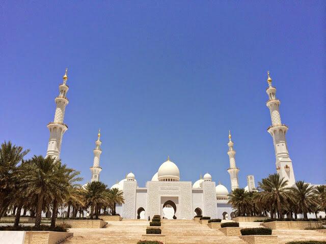 Abu Dabi, donde es