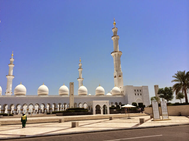 Mesquita do Sheikh Zayed Abu Dabi