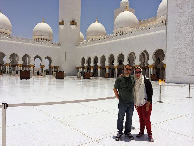 Mesquita de Adu Dhabi