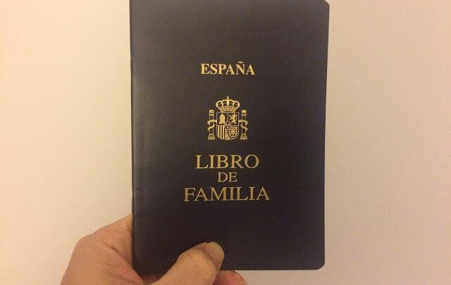 Como solicitar o Livro de Família Espanhol ou Libro de Familia Español