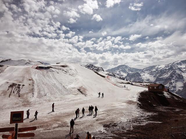 Ski Resort Snowy Valley