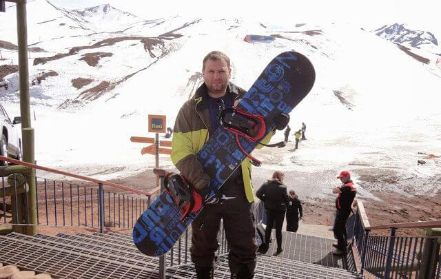 Esquiar no Vale Nevado