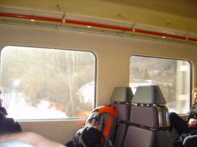 Train to Puigcerda