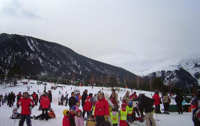 La Molina, a bela Estação de Esqui