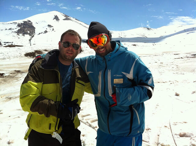 Aula de Esqui do Vale Nevado