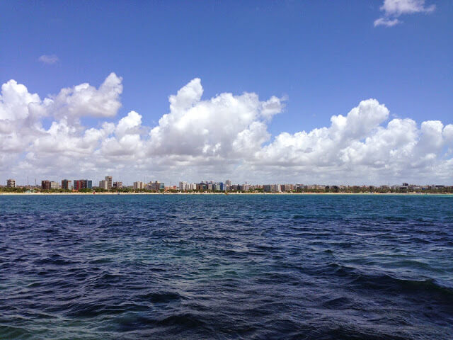 Maceio visto Sea