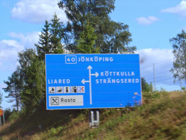 Jönköping Suécia, região dos lagos suecos