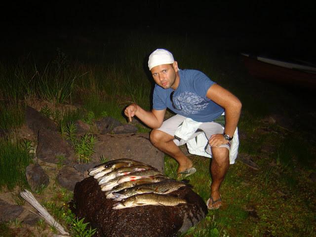 Resultado da pescaria