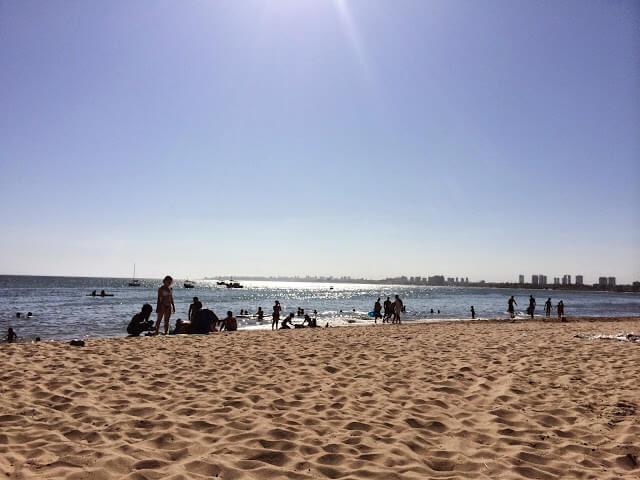 praia de Stela Maris em Salvador
