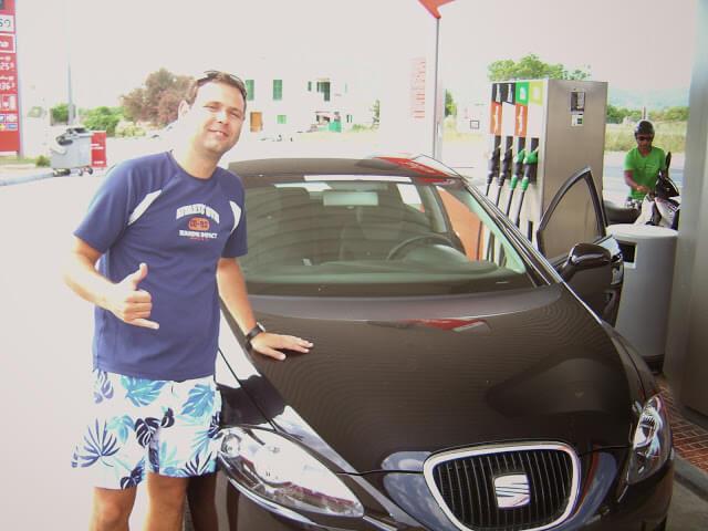 Christian Gutierrez em Ibiza