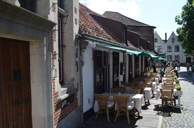 Restaurantes em Bruges
