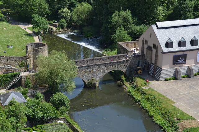 Passerelle, antiga ponte mediável