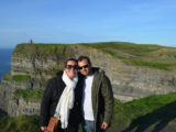 Cliffs of Moher, one of the main attractions of Ireland, near the city of Galway