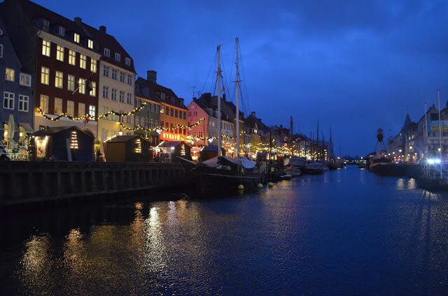 rua mais famosa de Copenhague