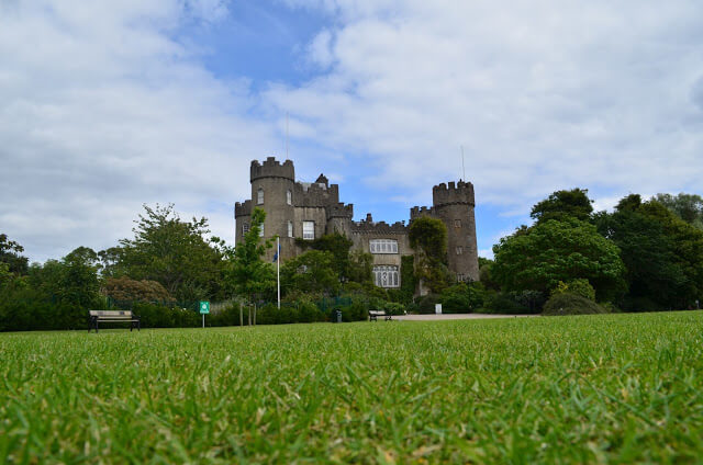 Castelo de Malahide na Irlanda