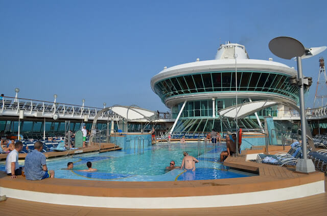 piscina de crucero