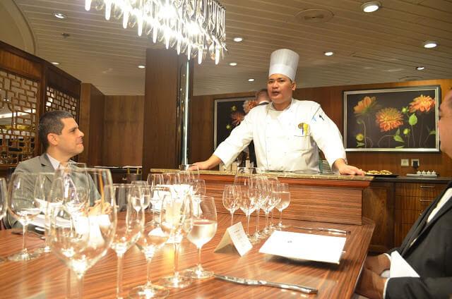 Restaurante era la mesa del chef