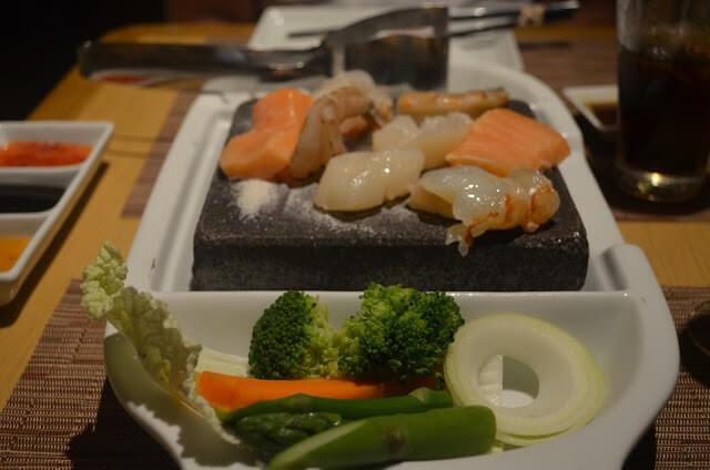 comida japonesa e asiática
