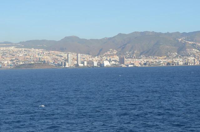 Tenerife, nas Ilhas Canárias pertencente a Espanha