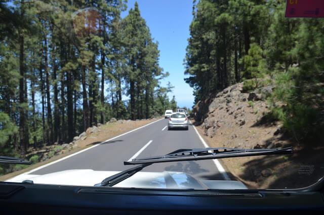 4x4 Parque Nacional do Teide