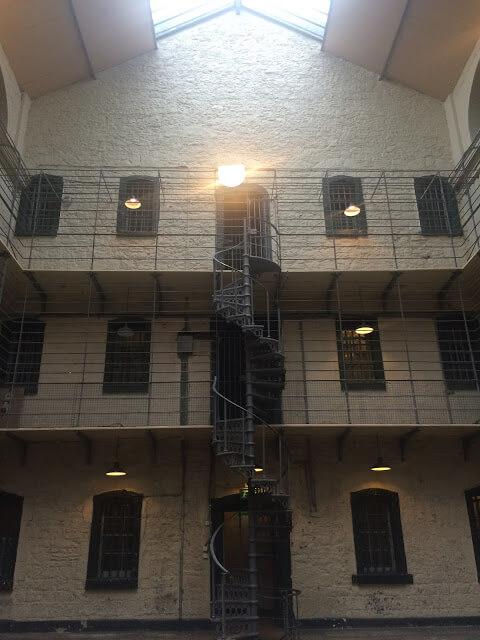 la cárcel de Kilmainham