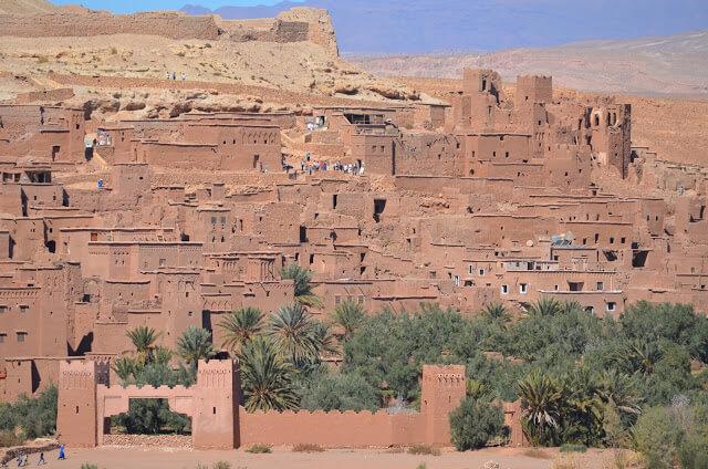 cidade antiga árabe