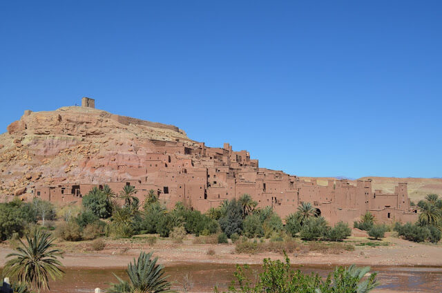 Ait Ben Haddou, ancient fortified city in Morocco