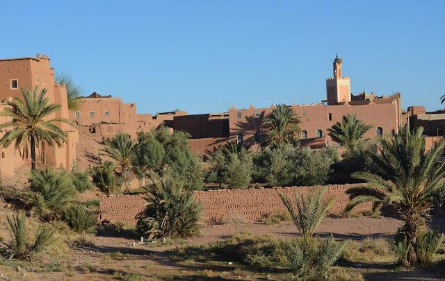 Ouarzazate é uma cidade do sul de Marrocos