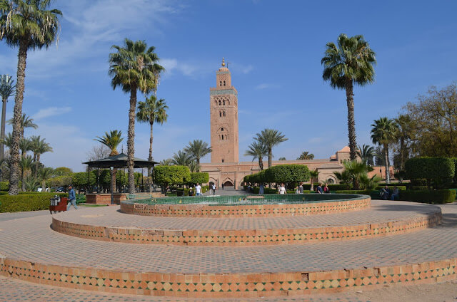 Marrakesh, não é a capital de Marrocos