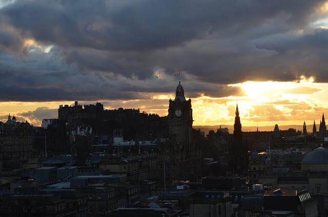 Castelo de Edimburgo Escocia