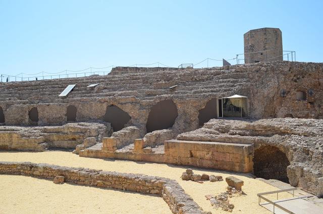 Anfiteatro Romano em Tarragona