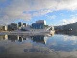 Oslo die schöne Hauptstadt von Norwegen