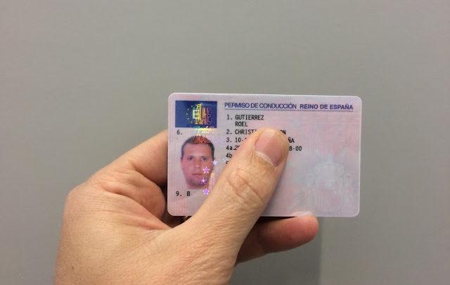 Como solicitar a carteira de motorista na Espanha?