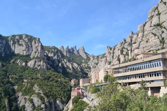 Montserrat monastery and sanctuary in Spain
