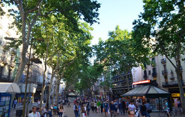 10 coisas para fazer gratuitamente em Barcelona