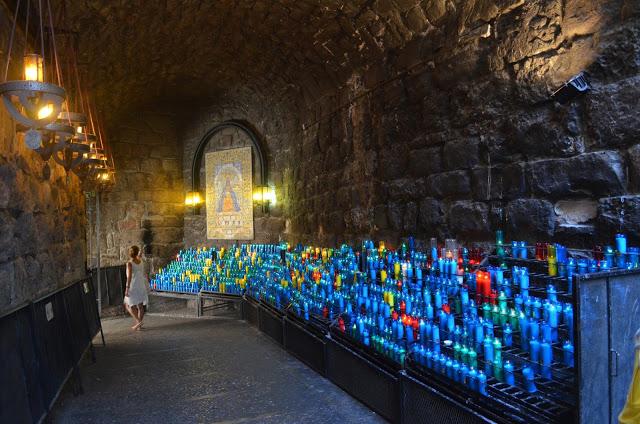 Montserrat près de Barcelone