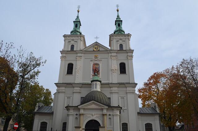 Basilique Saint-Pierre. Florian à Cracovie