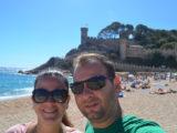 Tossa de Mar, cidade antiga murada, castelo e praias deslumbrantes
